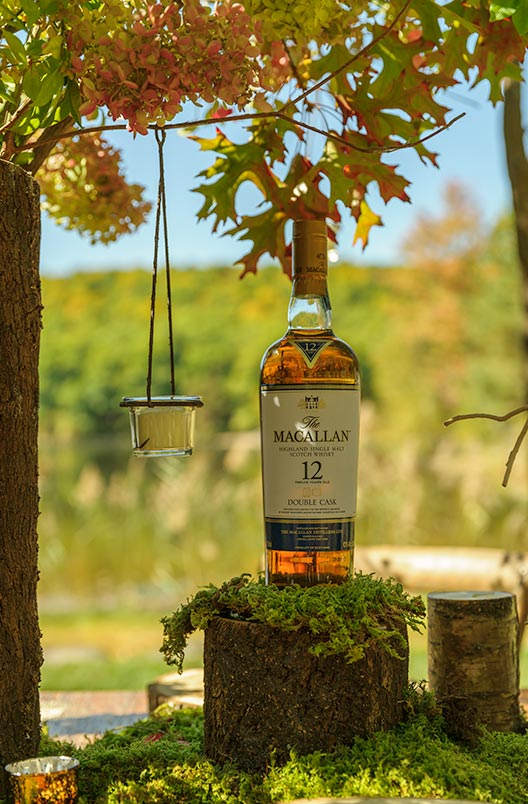M Booth Macallan Double Cask event at Cedar Lakes Estate