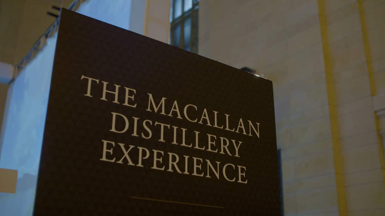 M Booth Macallan Distillery Experience