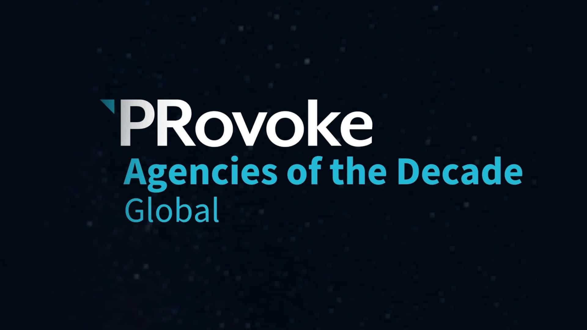 agency of the decade